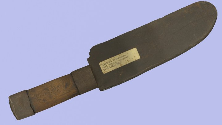 """""""Stock knife"""" from the 19th century 3D Model"""