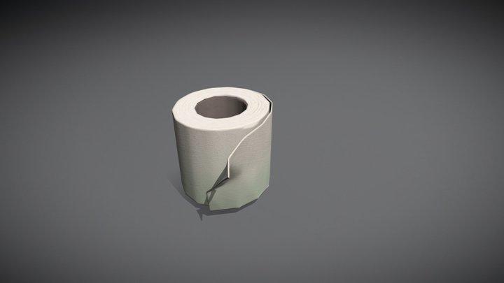 Туалетная Бумага 3D Model