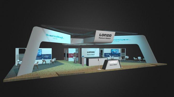 Lonza 2020 CPhi Worldwide Exhibit 3D Model