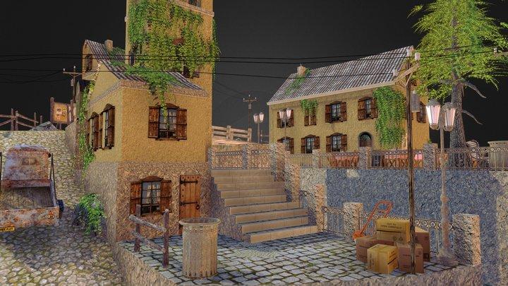 1DAE03_Vermeersch_Keltic_CityScene 3D Model