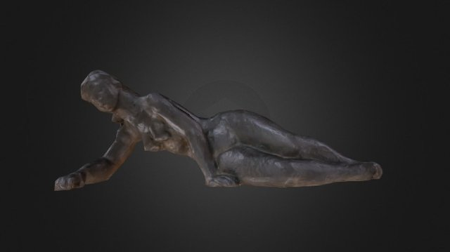 Untitled (Reclining Nude Female) 3D Model
