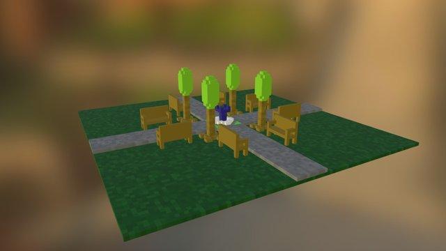 Little Park 3 3D Model