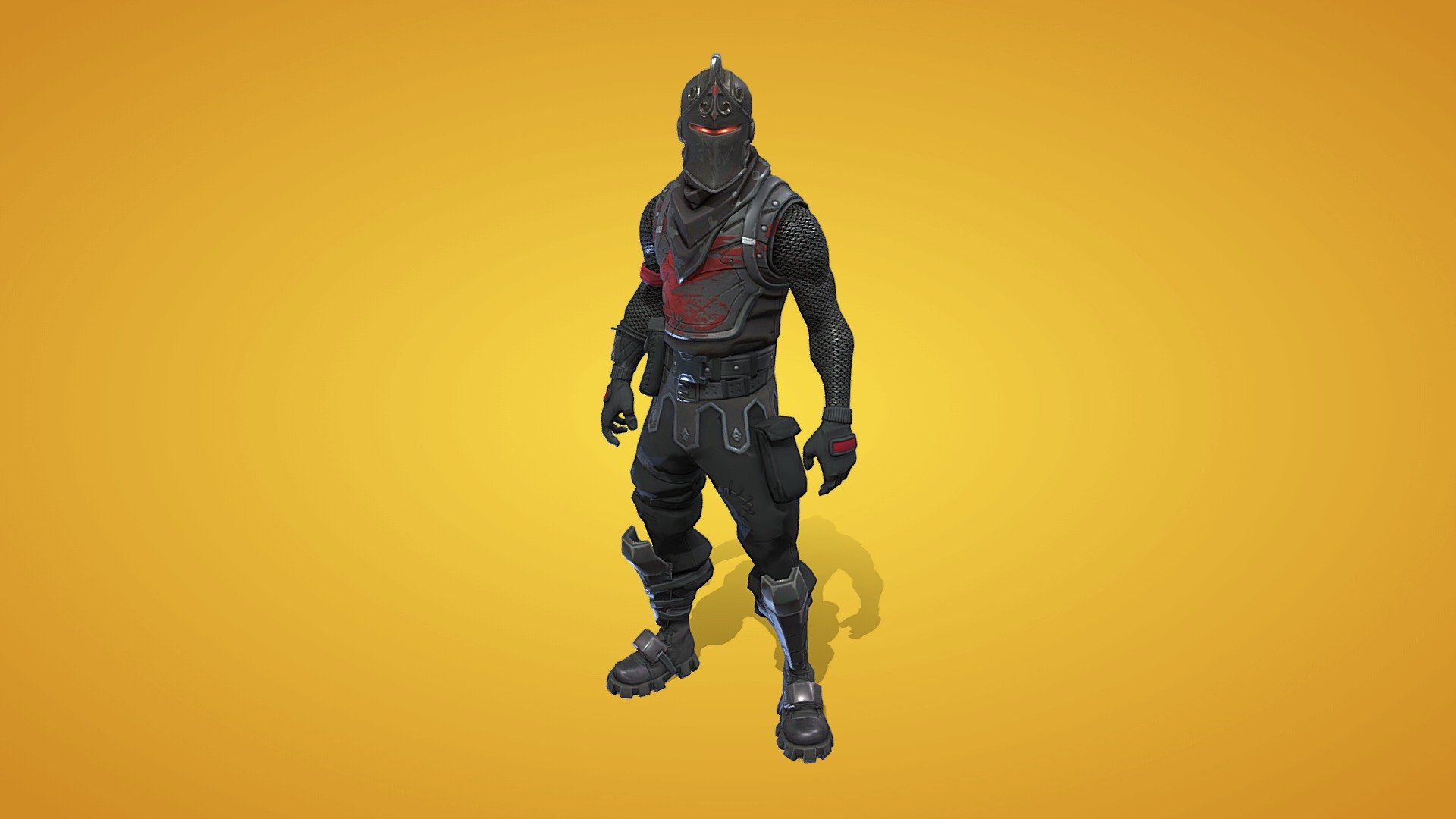 Black Knight Outfit 3d Model By Fortnite Skins