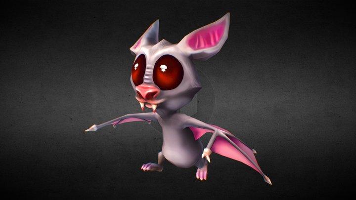 Toon Bat 3D Model