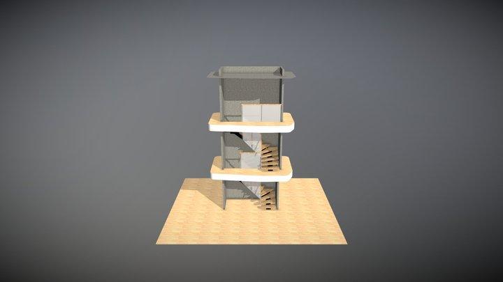 Helene Myrhagen 3D Model