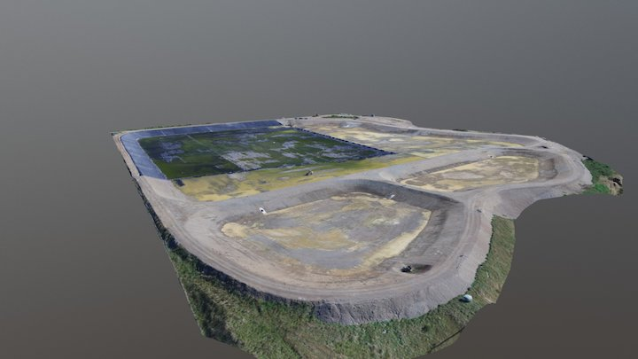 Infrastructure Project - Pond 31st March 2017 3D Model