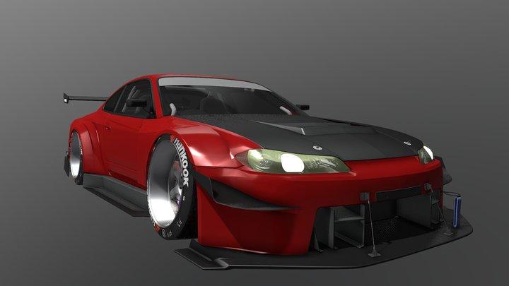 Nissan Silvia S15 Custom 3D Model