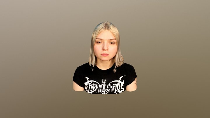 Anna Manankina 3D Model