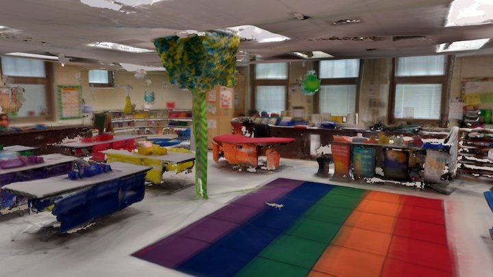 Hyde park school kindy room 3D Model