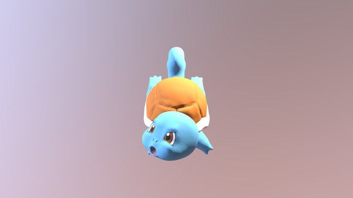 Squirtle 3D Model