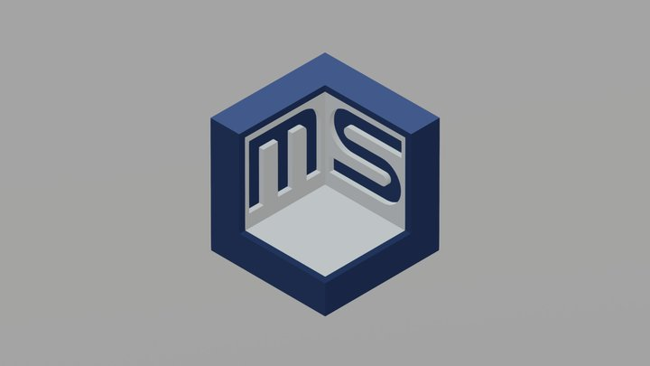 Logo 3D Makerspace ULPGC 3D Model