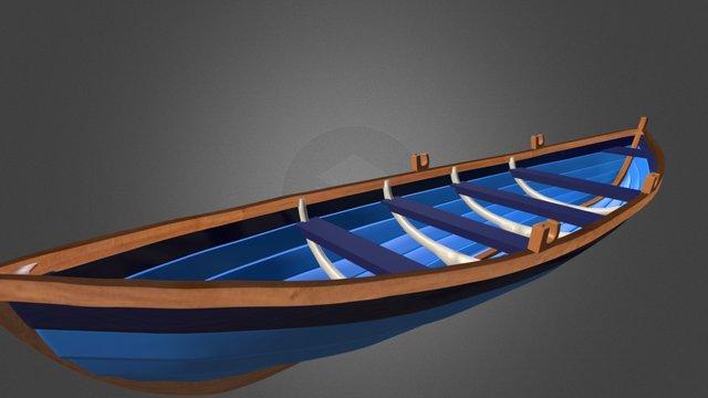 St Ayles Skiff 3D Model