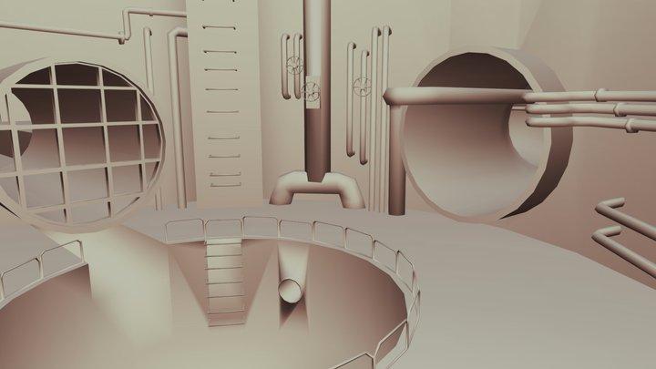 Sewer 3D Model