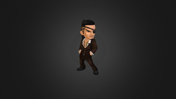 "Mr. Cool ""The Coolest Man Ever!!"" 3D Model"