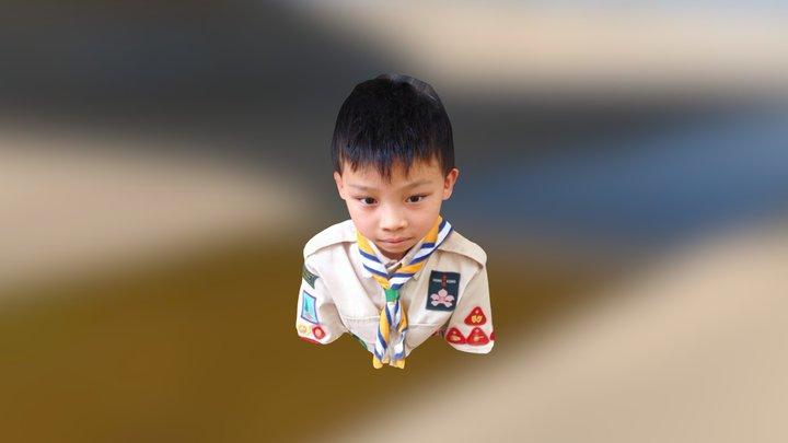 4D 黃淦希 3D Model