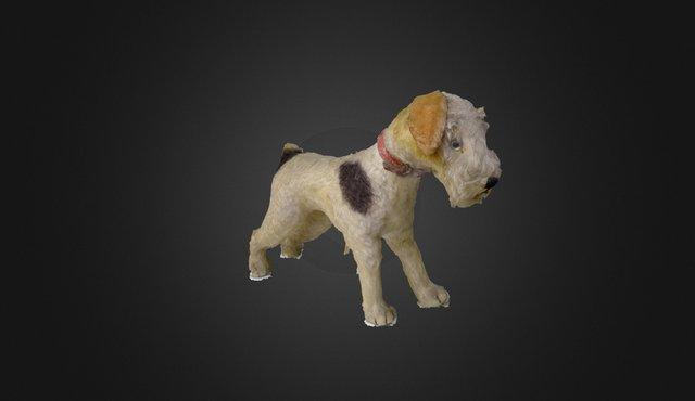Toy Dog 3D Model