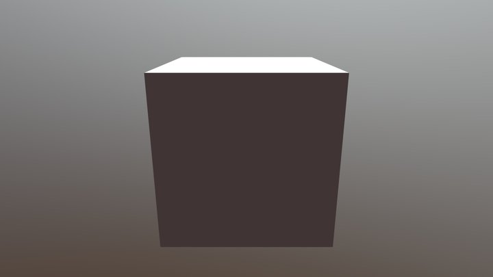 Just Fake Only Cube That Is All 3D Model