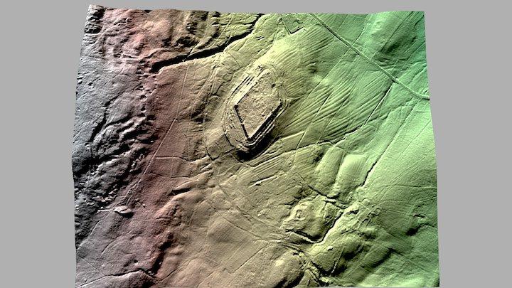 Epiacum Roman Fort 3D Model