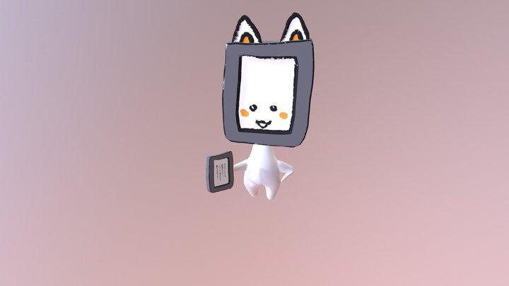 ぱぶにゃんと踊ろう! 3D Model