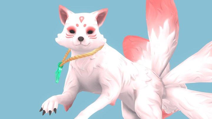 Kota the Kitsune 3D Model