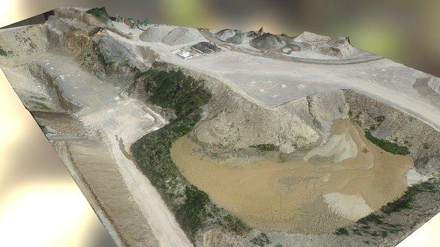 Cava - Quarry 3d Model 3D Model