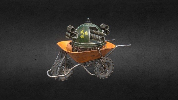 Recycled Tank v1.01 3D Model
