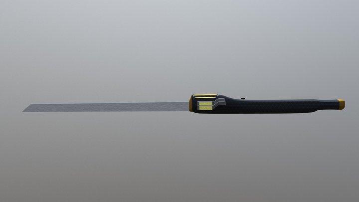 Sword art 3D Model