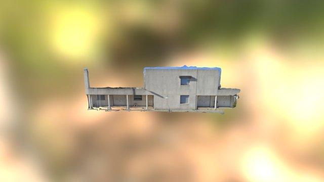 Façade Lycée 3D Model