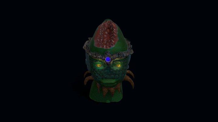 FishHead monster 3D Model