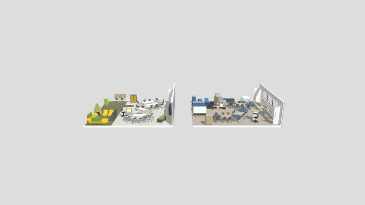 SSIS Elementary Option 2 3D Model