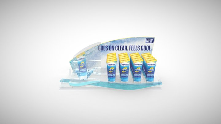 Coppertone Clear PDQ 3D Model