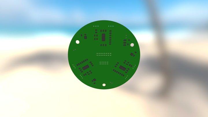 Passive Sonar PCB 3D Model