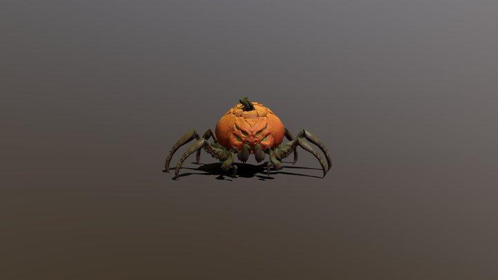 Pumpkin Spider cycles 3D Model