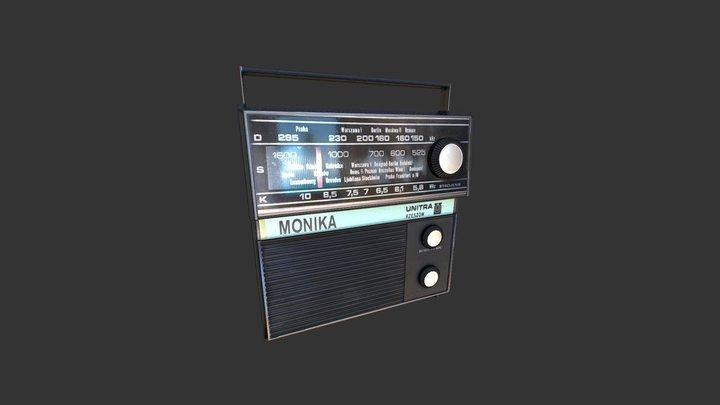 Vintage Radio Transistor 3D Model