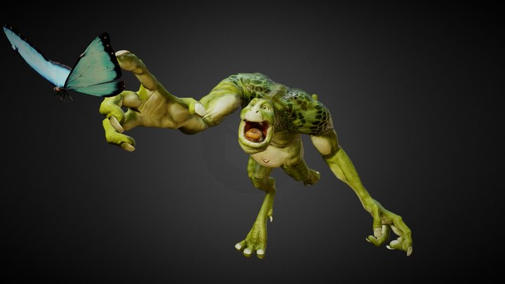 The Creature 3D Model