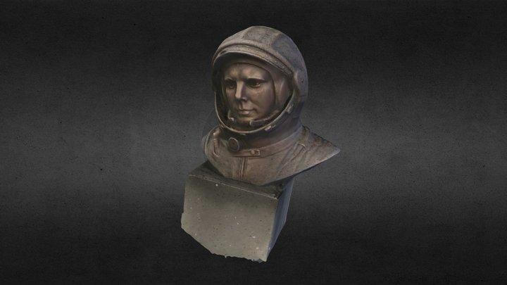 Gagarin 3D Model