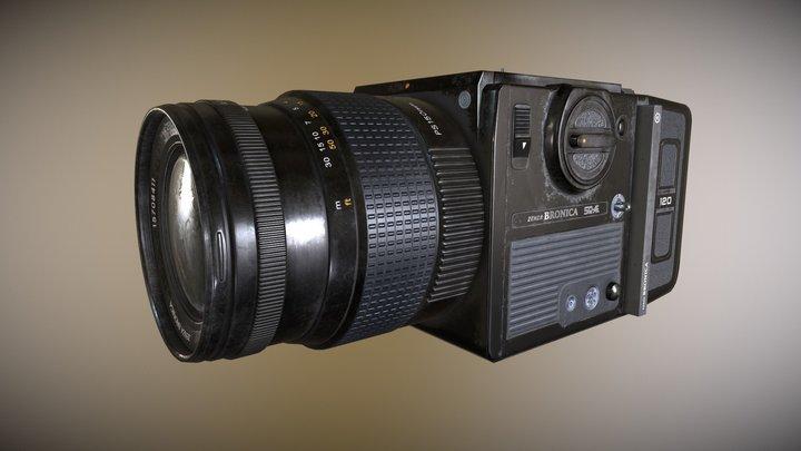 Bronica Camera 3D Model