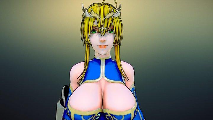 Lancer Artoria Pendragon 3D Model