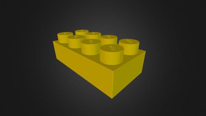 A lego 3D Model
