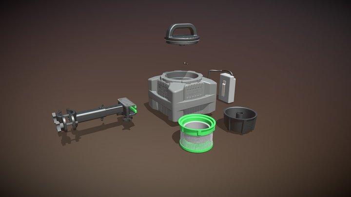 The Bait Bunker by M.O.S.S. 3D Model