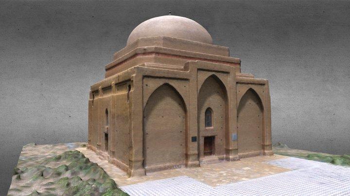 141 - Мечеть Актас 3D Model