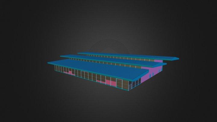 hangar-2 3D Model