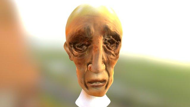 Z Anciano Poly Sphere 1-AO U0 V0 3D Model