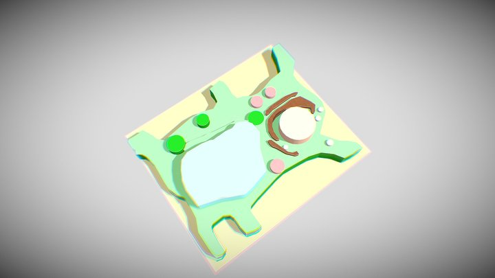 Plant Cell by Nicole 3D Model