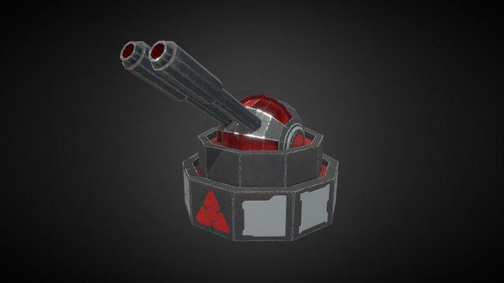 Small Turret 3D Model