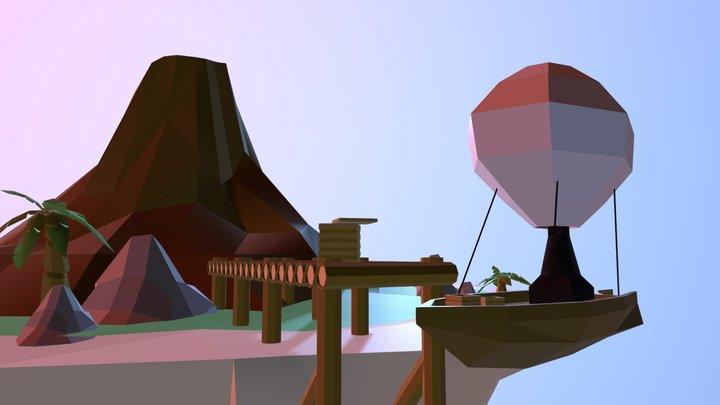 Air Isles 3D Model