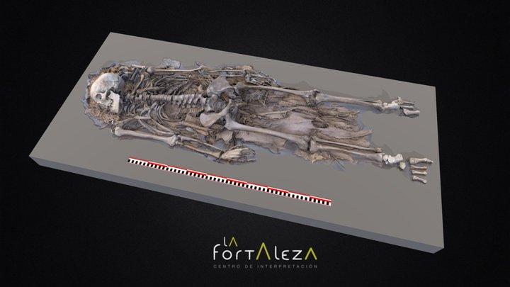 Momia procedente del Roque Bentayga 3D Model
