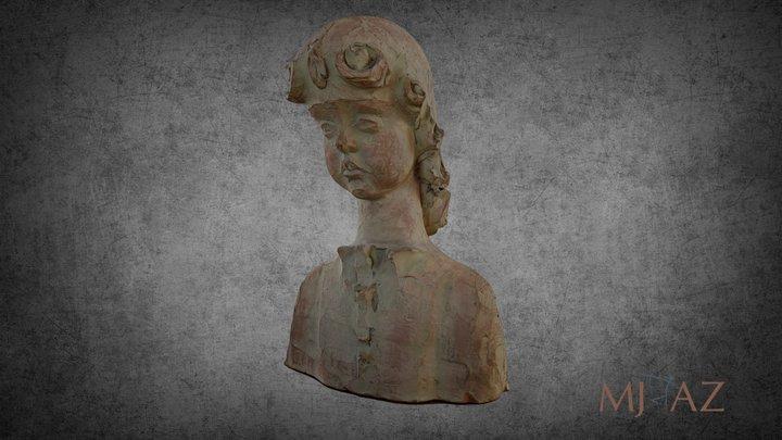 Aurel Terec - Cap de copil 3D Model