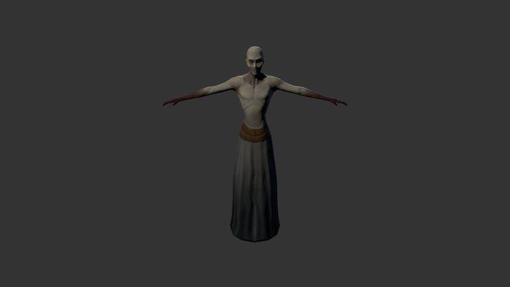 Necromancer 3D Model