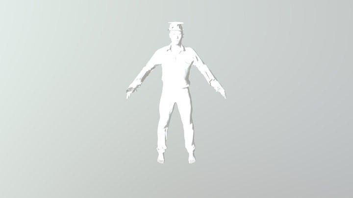 Man 5 2 3D Model